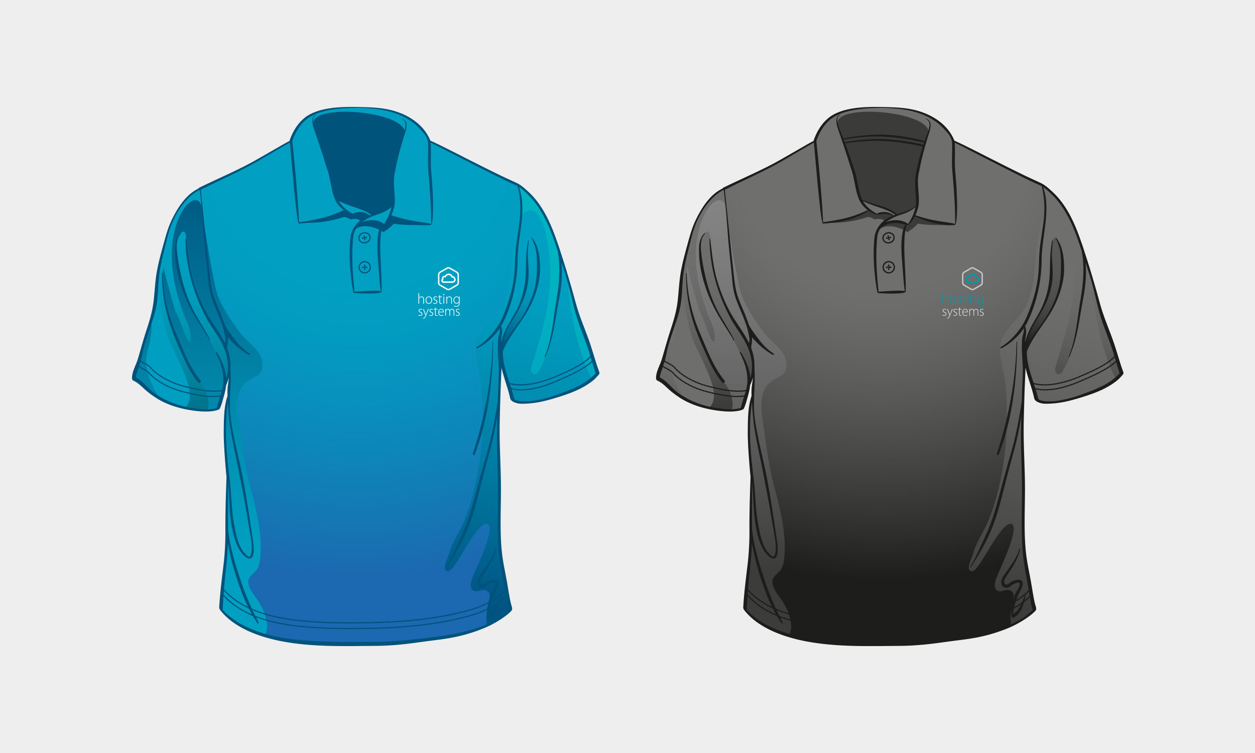Hosting Systems Polo Shirts