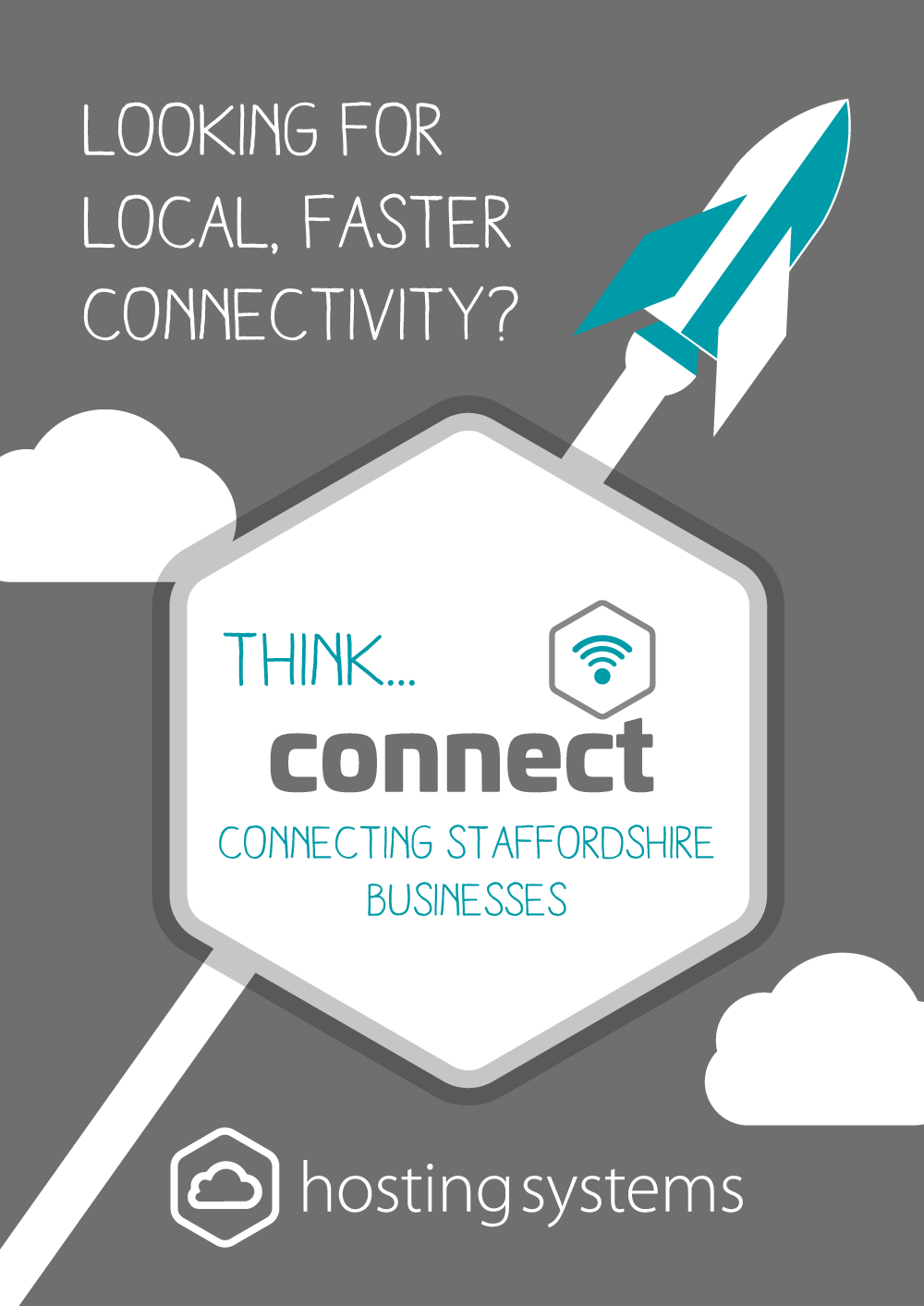 Hosting Systems connect Flyer